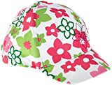 maximo Mädchen Kappe Basecap Blumen, Mehrfarbig (Artikweiß/Pink Rose 164), 53/55
