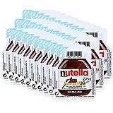 Ferrero Nutella Mini Brotaufstrich Schokolade 15g-Nuss-Nougat-Creme (30er Pack)
