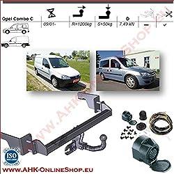 Anhängerkupplung AHK starr Für Ford FOCUS C-MAX 2008-2010 QUALITÄT