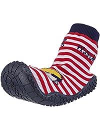 Playshoes Aqua-Socke Badeschuhe Pirat Jungen Aqua Schuhe