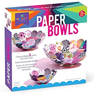 Anna Williams- Kit CREA Bowls de Papel, Multicolor (1)