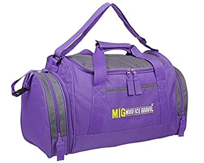 Ladies Purple Holdall Sports & Gym Cabin Bag By MIG - Sports School Travel