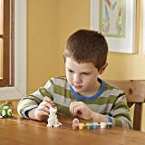 Melissa & Doug Decorate Your Own Dinosaur Figurines (All-Inclusive Art Set, Ready to Decorate, 6 Pots of Paint and Paintbrushes)