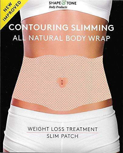 Contouring Abnehmen All Natural Body Wrap 6 Anwendungen - Body Contouring Gel