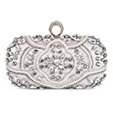 Abendtasche Damen Diamant Clutch Bag Kette Shiny Strass Handtasche Klein Tasche für Hochzeit Party...