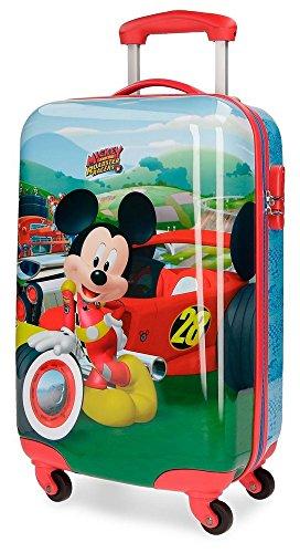 Maleta cabina Mickey Roadster Racers Rígida 55cm