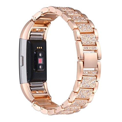 bonjouree-bracelet-de-fitbit-charge-2-en-acier-inoxydable-cristal-pour-fitbit-charge-2-or-rose