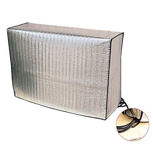 Coperture per tavoli Addensare Climatizzatore Covers per linverno Pioggia Neve Vento Pellicola di Alluminio Impermeabile AC Copertura Universale