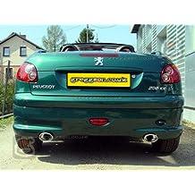 Peugeot Sport Exhaust 121-312/17-1 - Sistema de escape deportivo (