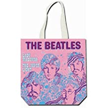 Rock Off - The Beatles Tote Bag Lady Madonna pink