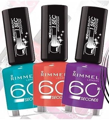 Rimmel London 60 Seconds Nail Polish