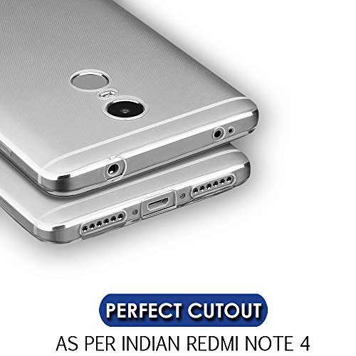 outlet store 216a7 f0514 Redmi Note 4 Back Cover (INDIAN Version) Crystal Transparent Back Case For  Xiaomi Redmi Note 4 ,Silicon Soft