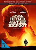 The Man Who Killed Hitler and Then The Bigfoot - 3-Disc Limited Collector's Edition im Mediabook (4K Ultra HD) (+ Blu-ray 2D) (+ DVD)