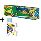 Clementoni - Tapete especial para armar puzzles (302970) + Pegamento conserver