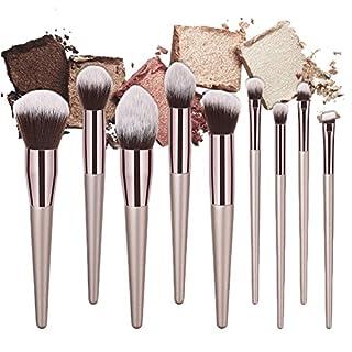 awhao-20089Pro Champagner Gold Make-up-Pinsel Powder Foundation Blush Kosmetikpinsel Makeup Beauty Tools