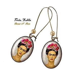 .Frida.Kahlo Ohrringe. und der Katzenmaler