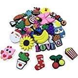 GuassLee 36PCS Shoe Charms for Croc Shoes Kids' Birthday Party Favors Gifts