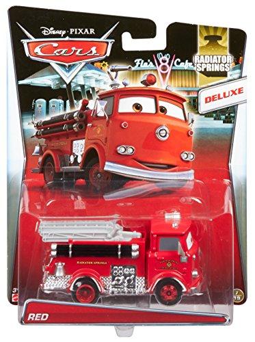 Image of Mattel Disney Pixar Cars Deluxe Oversize Y0539Die-Cast Vehicle–Red