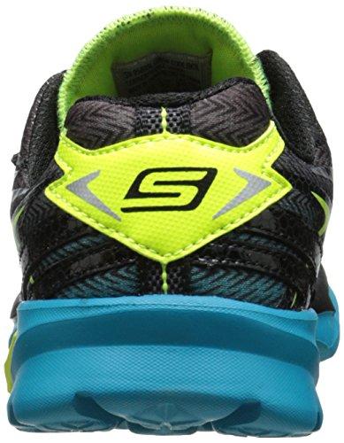Skechers Go Run 4, Chaussures de running garçon Noir - Schwarz (BKTL)
