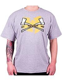 Wu Wear - Wu Tang Clan - Bring da Ruckus T-Shirt - Wu-Tang Clan Tamaño XXL, Color asignado Grey