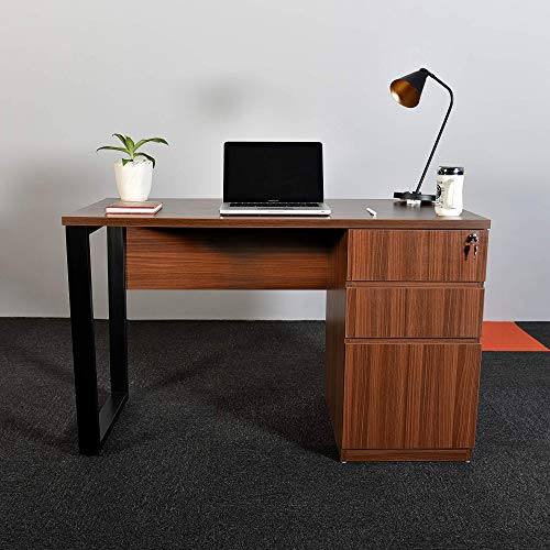 FUSION FURNISH Premium Engineered Wood Stance Desk|Table|Stand|Study Table, Laptop, Computer Table Desk for Home   Office