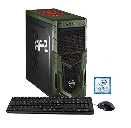Hyrican Zubehör:</b> Asus Cerberus Gaming Optical Maus und Keyboard (USB), Handbuch, Netzkabell
