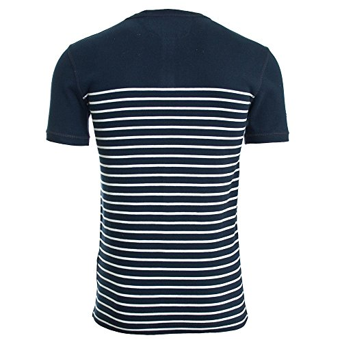 Superdry Vacation Grandad T-Shirt Navy/Optic Navy/Optic