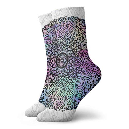 Hearts Floral Design Adult Short Socks Cotton Classic Socks for Mens Womens Yoga Hiking Cycling Running Soccer Sports