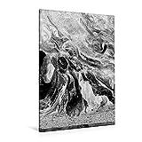 Premium Textil-Leinwand 80 cm x 120 cm hoch, Ein Motiv aus dem Kalender Bleistiftzeichnungen | Wandbild, Bild auf Keilrahmen, Fertigbild auf echter Leinwand, Leinwanddruck (CALVENDO Kunst)