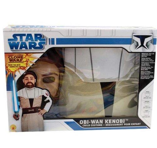Obi Wan Kenobi Clone Wars Boxset Gr.M (Wars Clone Kostüm Obi Wan)
