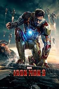 Iron Man 3 Poster Teaser Wasser - Poster Großformat (61cm x 91,5cm)