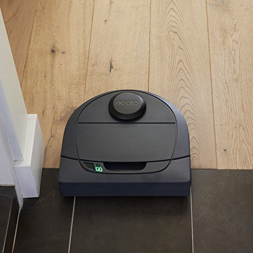 neato robotics botvac connected navigating robot vacuum everyday cleaning 30w graphite grey. Black Bedroom Furniture Sets. Home Design Ideas