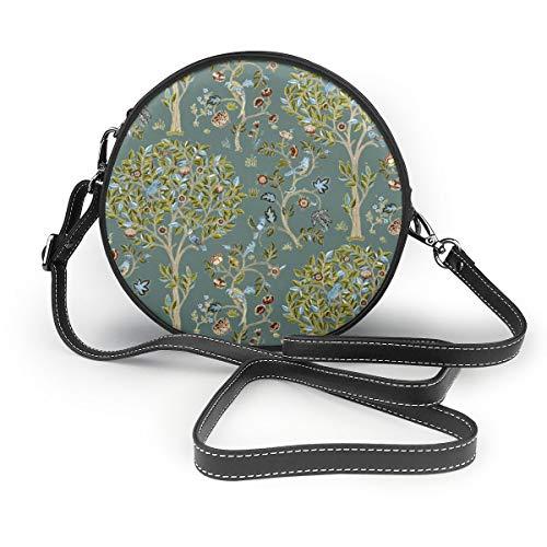 Handbags For Women,Kelmscott Tree Dark Empire PU Leather Shoulder Bags,Tote Satchel Messenger Bags - Dark Dragon Metal