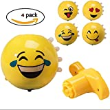 Large 3 Inch Emoji Spinning Tops with Lights - Best Reviews Guide