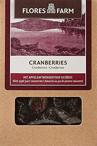Flores Farm - Cranberries Séchées Bio - Boîte de 100 g