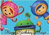 Team Umizoomi Edible Cake Image Topper Frosting Sheet by Kopykake