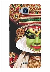 Noise Kathakali Printed Cover for Huawei Honor Bee