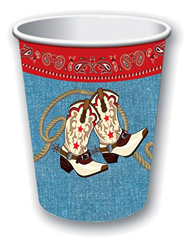 Forum Novelties x75922 Way Out West Tasse, mehrfarbig, one size (Cowboy Party Supplies)