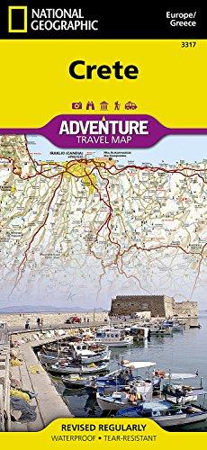 Crete Travel Maps International Adventure Map (National Geographic Adventure Travel Maps) par National Geographic Maps