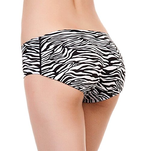 SodaCoda seamless in-build padded low rise pants Black or Nude (S-XL) Zebra