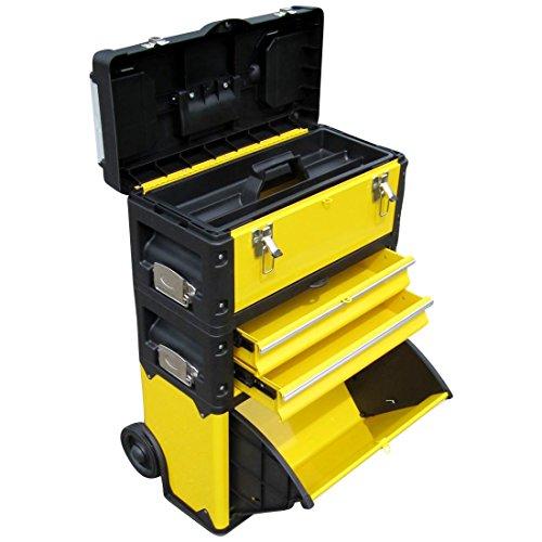 Metall Werkzeugtrolley XL Type B305ABD -> jetzt neu mit Schubladenverriegelung und Schloss von AS-S