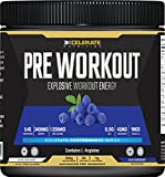 Best Pre Workout Supplements Women - Xcelerate Pre Workout 30 Servings (330g) Pre-Workouts/Explosive Energy/Pump Review
