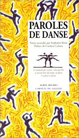 Paroles de danse par Stéhane Roux (Relié)