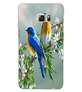 SAMSUNG GALAXY NOTE 5 EDGE BIRDS Back Cover by PRINTSWAG