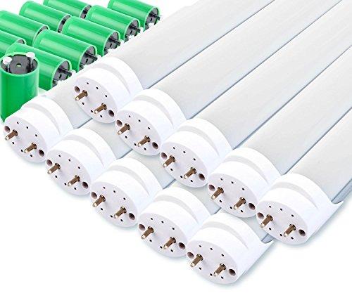 10 12 Schuppen X (10er Set Showlite LED Röhre 150cm (1500mm Leuchtstoffröhre, T8 G13, 2300 Lumen, 4500 Kelvin, Tageslichtweiß, Leistung: 24W))