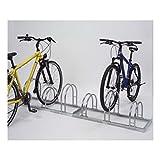 Fahrradständer (Bogenparker) 5252 EDELSTAHL (2 Einstellplätze)