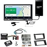 Sony XAV-AX3005DB CarPlay Android Auto Digitalradio DAB+ USB Autoradio Touchscreen Bluetooth Moniceiver Einbauset für Mercedes E Klasse W211 CLS W219