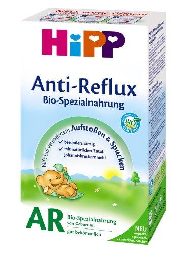 Hipp 75651 Anti-Reflux Bio-Spezialnahrung, 4er Pack (4 x 500 g) - Bio