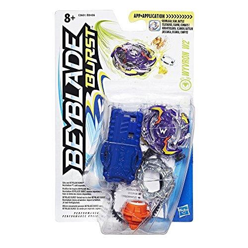 Beyblade Burst - C0601 - Pack Starter Wyvron 2 (1 toupie + 1 lanceur)