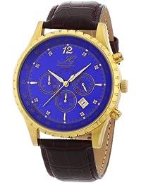Ingraham Herren-Armbanduhr XL Athens Chronograph Quarz Leder IG ATHE.1.600205D